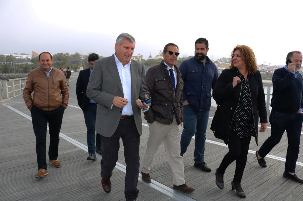 Visita del nuevo director gerente de la APPA a Cartaya