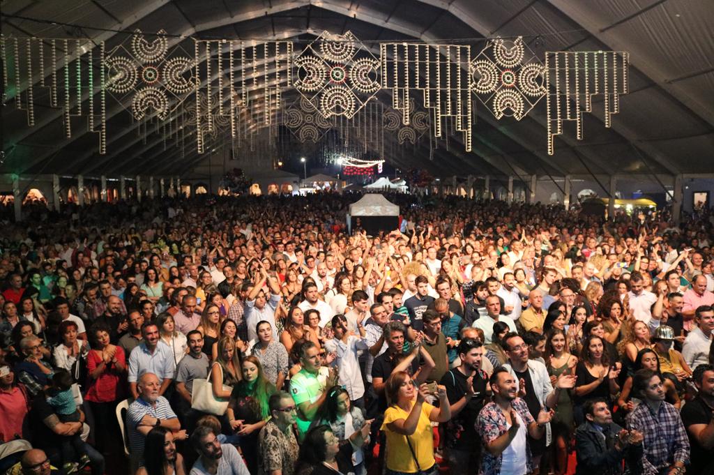 Éxito de público y de participacion en la Feria de Octubre de Cartaya