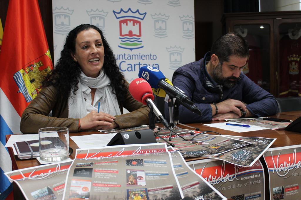 El Ayuntamiento de Cartaya presenta la programación cultural de cara a la Navidad.