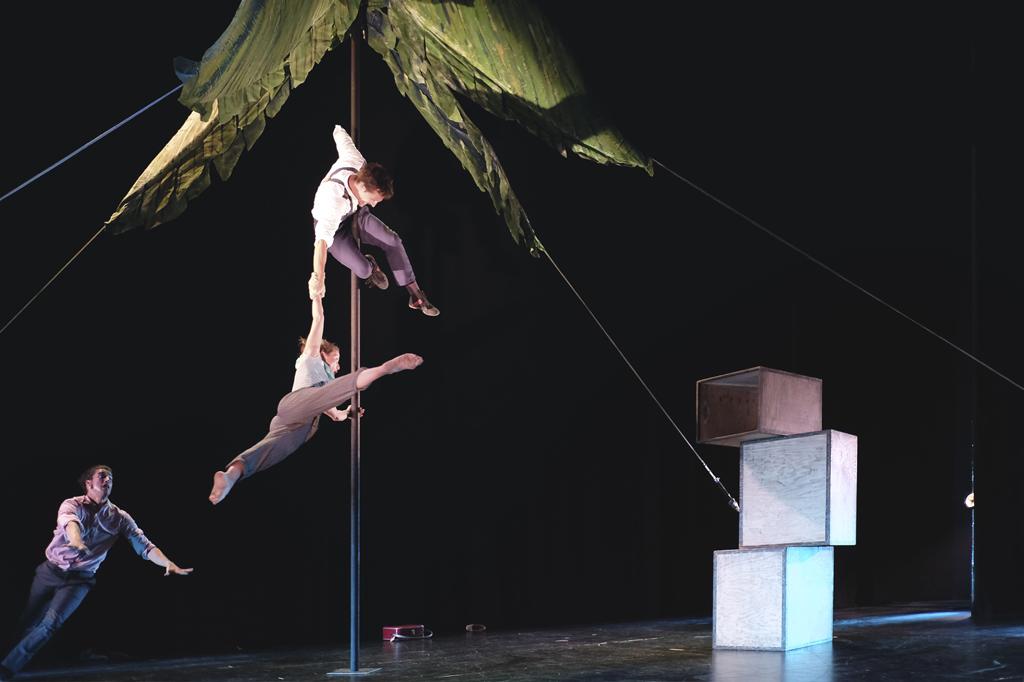 Cartaya acoge este sábado el espectáculo 'Isla', de la compañía D,Click.