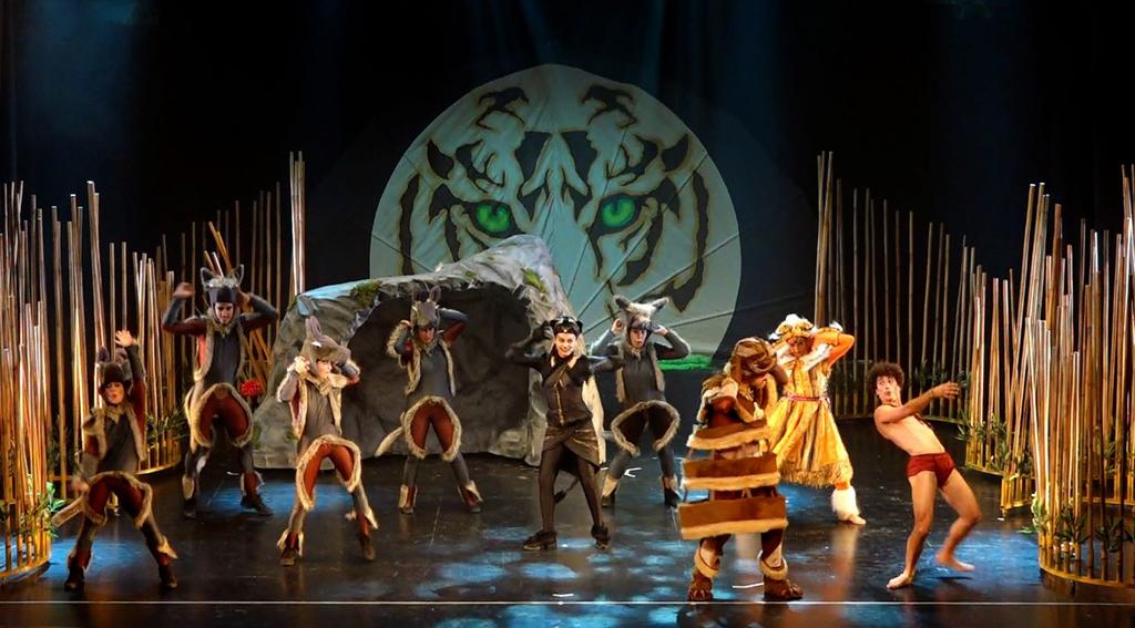 'La Aventura de Mogwli' llega al teatro cartayero.