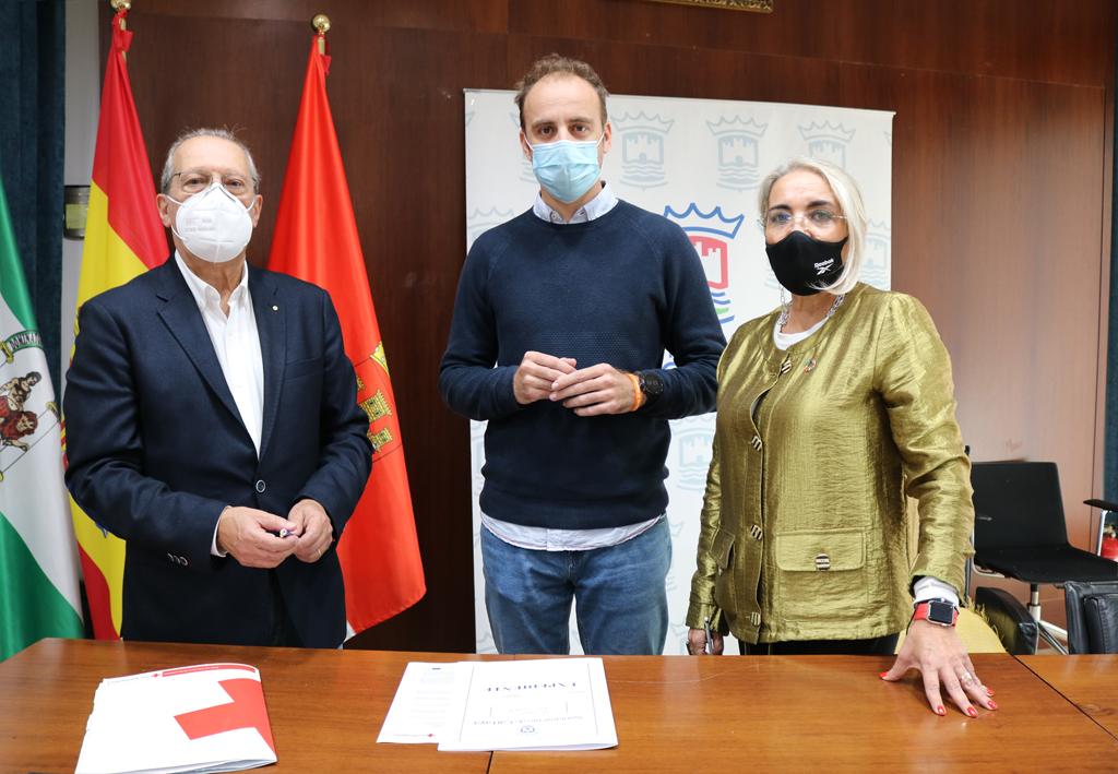 El Ayuntamiento de Cartaya y Cruz Roja firman un convenio de colaboración en materia de formación.