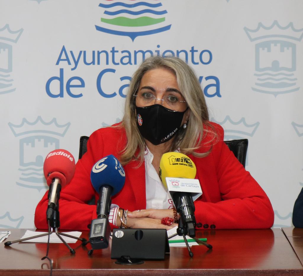 La alcaldesa valora como muy positivos los fondos que llegarán a los municipios desde el Estado para la recuperación.