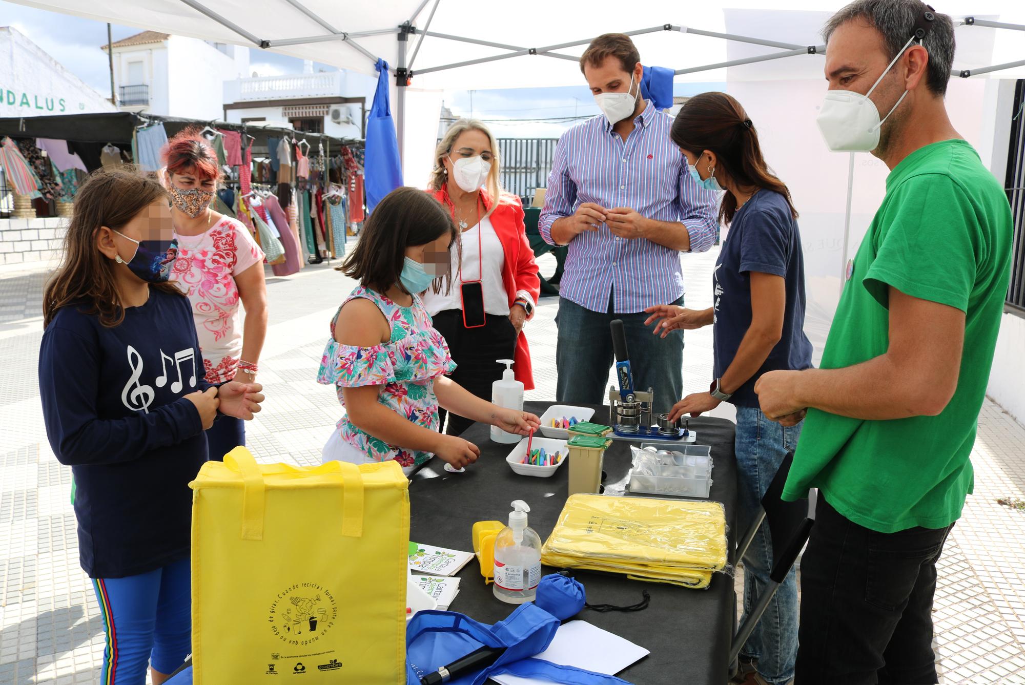La campaña municipal de promoción del reciclaje llega a Cartaya