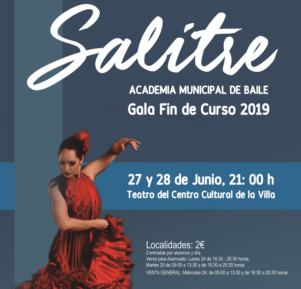 Las academias municipales de baile y pintura cierran el curso mostrando su trabajo en una gala y una exposición respectivamente.