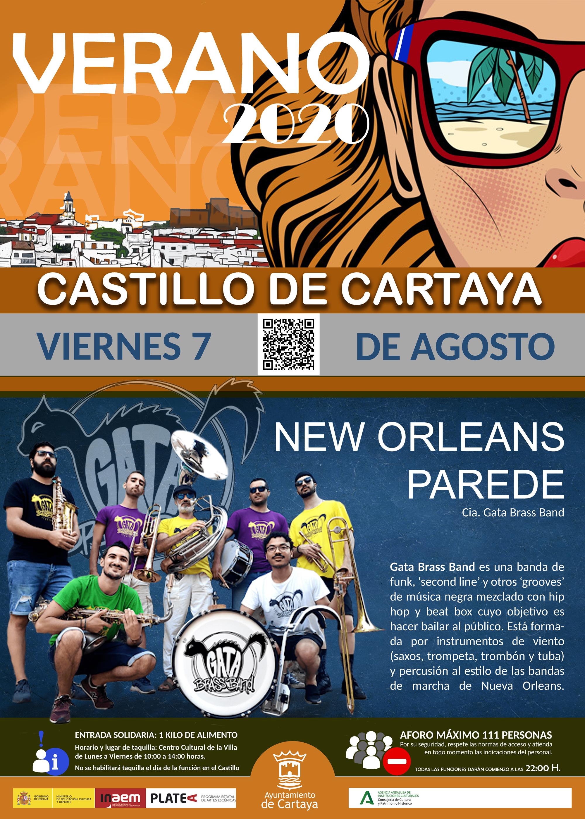 Nuevo espectáculo cultural en el Castillo de los Zúñiga, en el marco de la programación cultural del Ayuntamiento de Cartaya.