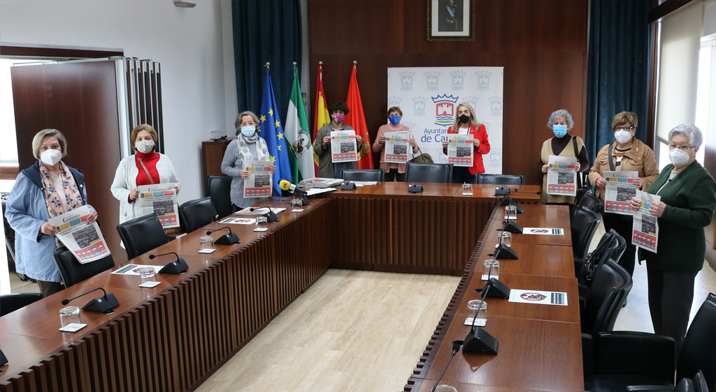 El Ayuntamiento destaca la participación de una decena de mujeres cartayeras en la gacetilla 'Las Comadres'