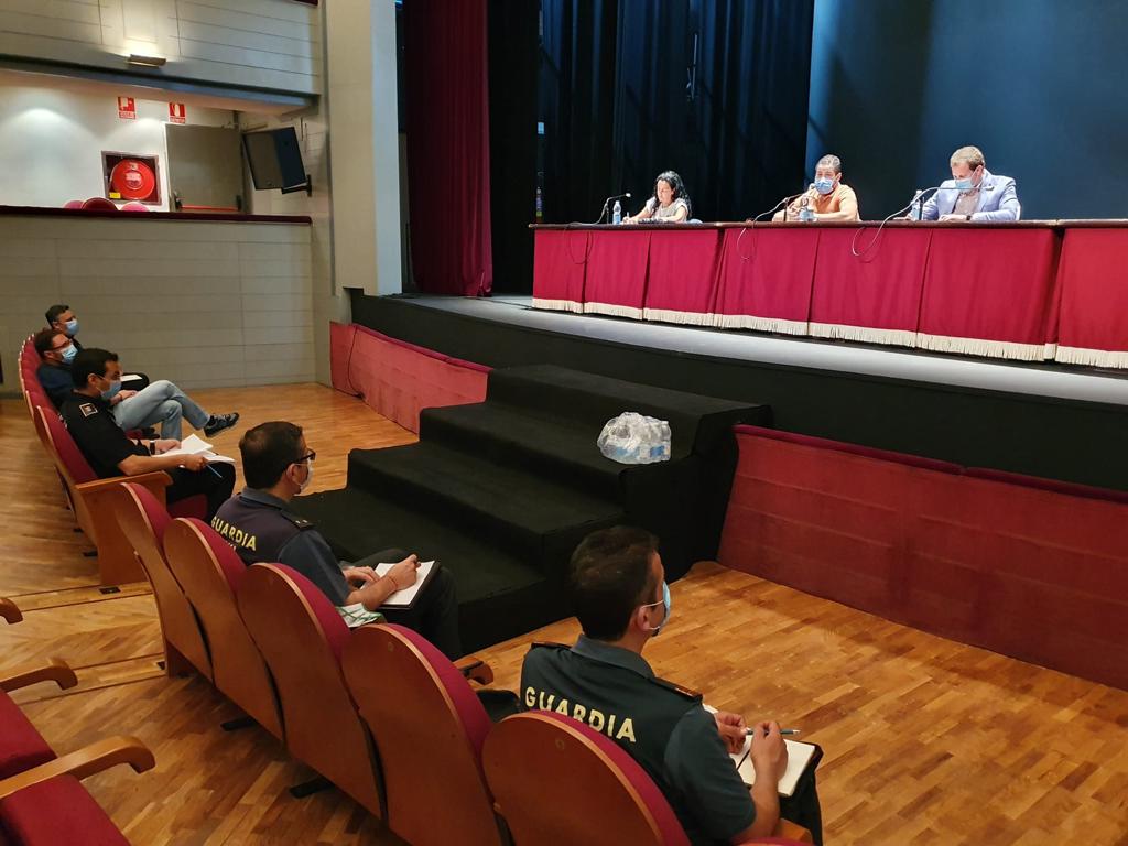 La Comisión de Seguimiento de las playas acordó esta semana intensificar la vigilancia en las Playas de Cartaya, como medida de prevención.
