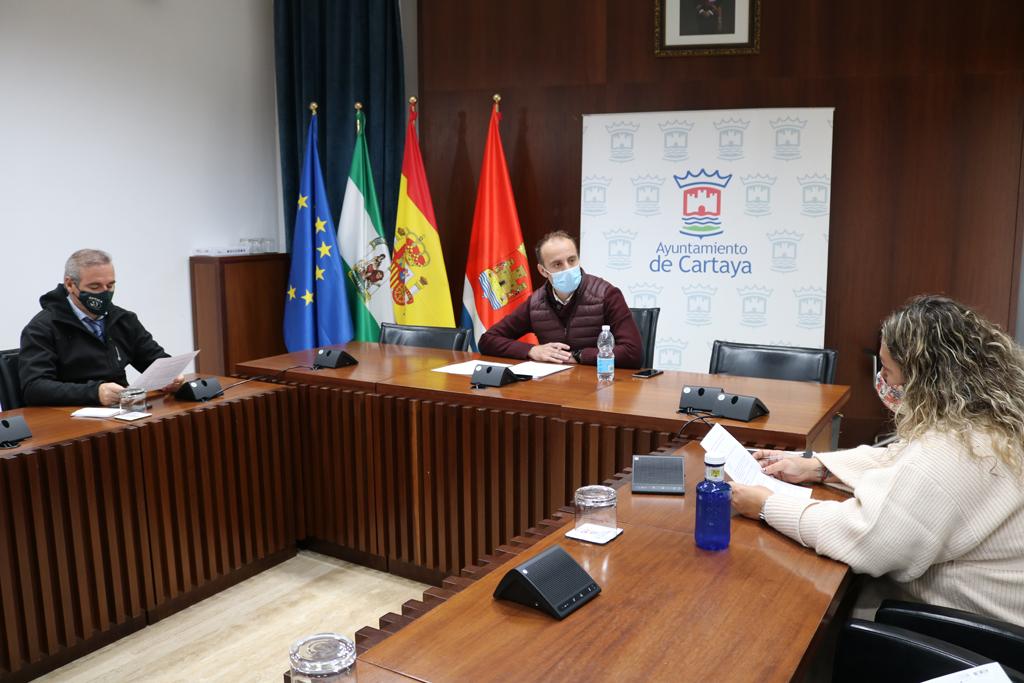 El Ayuntamiento de Cartaya y los comerciantes y empresarios de la localidad ponen en marcha el I Concurso de Mascarillas Higiénicas Terroríficas' para incentivar el comercio local.