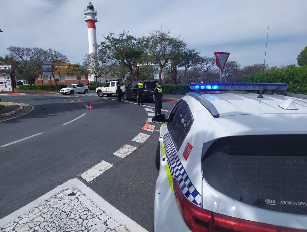 La Policía Local de Cartaya, con la colaboración de la Guardia Civil, intensificará la vigilancia en las playas y núcleos costeros de Cartaya.