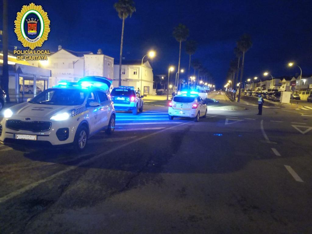 El Ayuntamiento de Cartaya refuerza el dispositivo de seguridad y prevención frente al COVID-19 de cara al fin de semana.