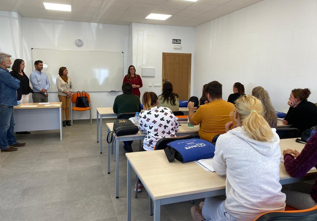 Clausura de dos cursos formativos del sector de la hostelería en la ULOPA