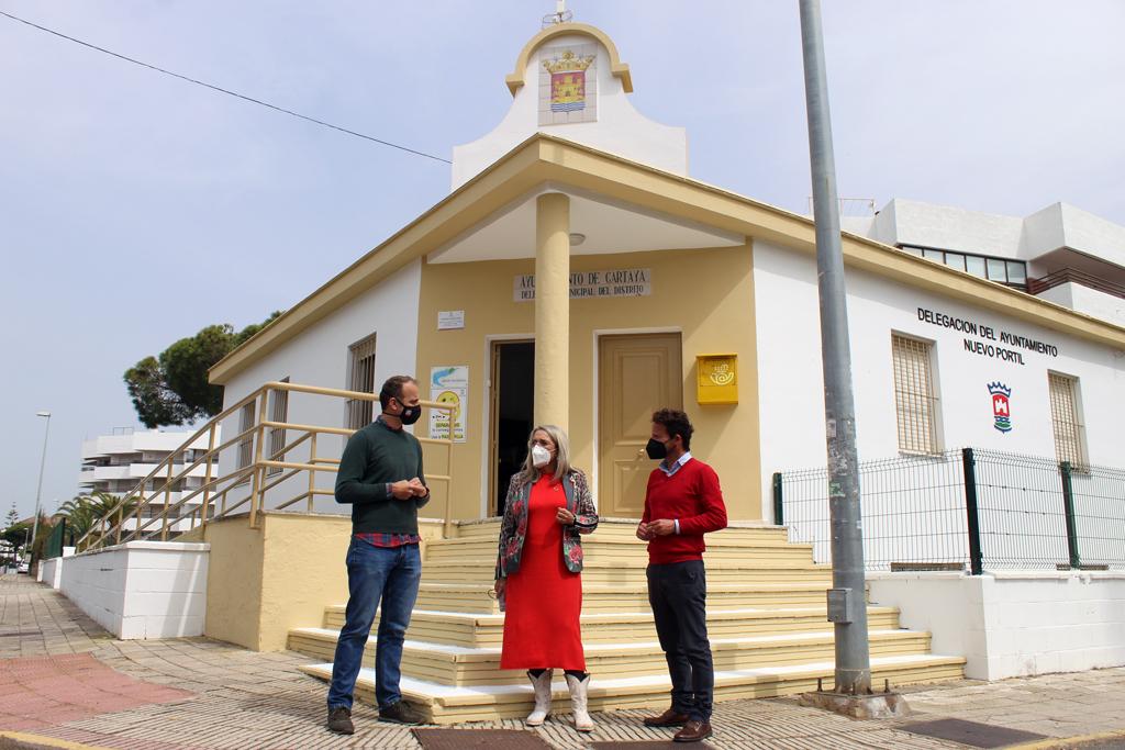 El Ayuntamiento rehabilita la Delegación en Nuevo Portil y refuerza el servicio de proximidad