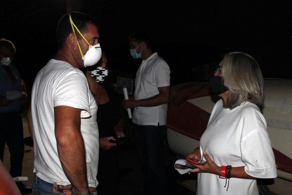 El Ayuntamiento de Cartaya agradece la colaboración de la Cooperativa y los agricultores en la desinfección de las calles