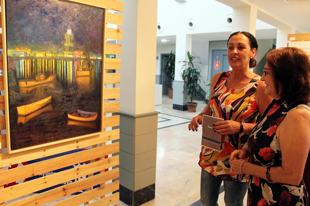 María José Caro Yusta expone su obra en Cartaya