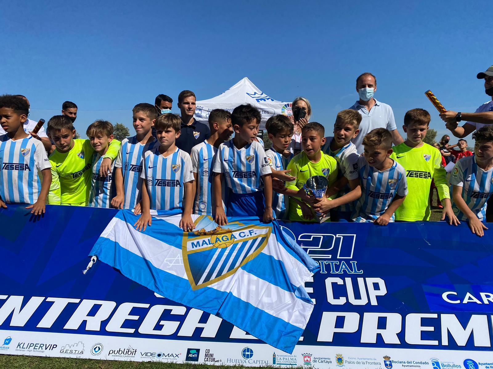 Éxito de participación y organización en la 'Gañafote Cup 2021', que convierte a Cartaya en epicentro del fútbol base en el fin de semana
