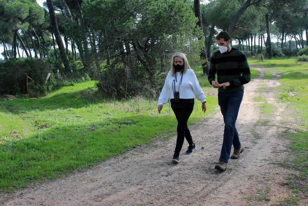 El Ayuntamiento pone en marcha una red de senderos para visitar y poner en valor el pinar de la localidad