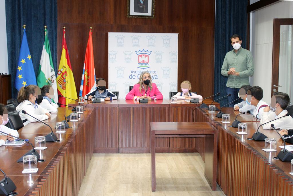 El Ayuntamiento de Cartaya conciencia a los escolares en materia de gestión de residuos