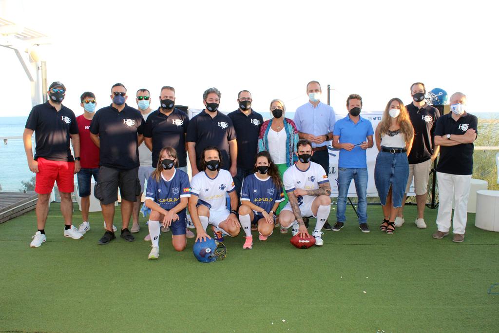 Cartaya acoge el próximo 4 de septiembre el Primer Torneo Oficial de Flag Football que se celebra en la provincia de Huelva