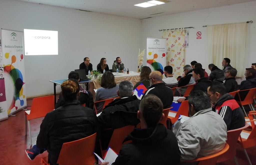 Jornada de emprendimiento en el Centro Terapeútico de Valle Salado.