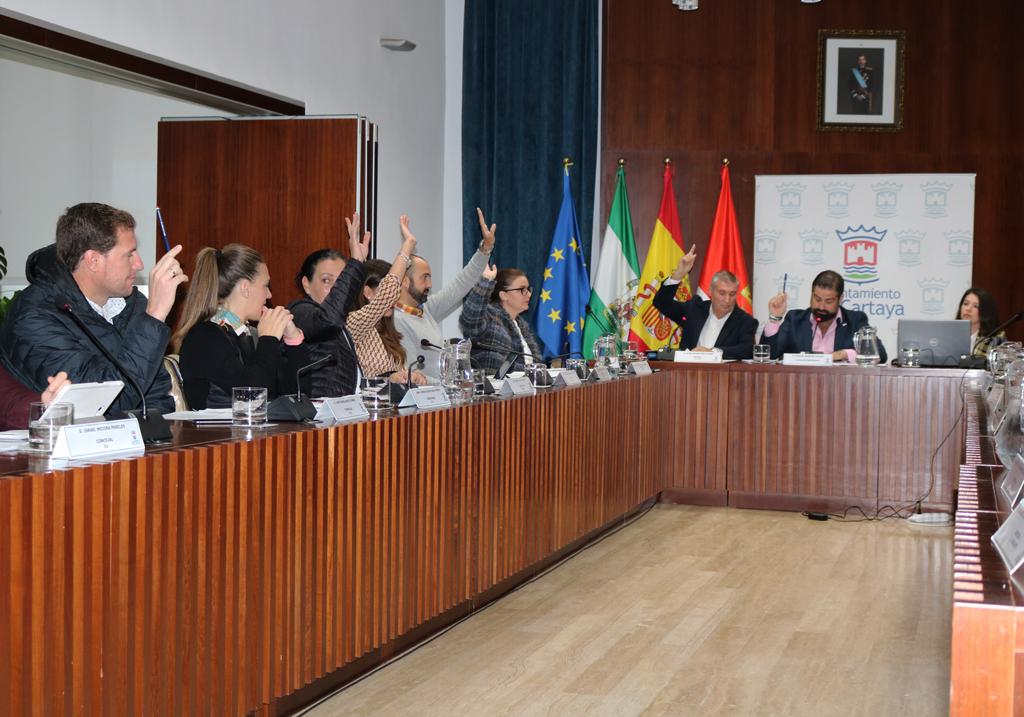 Pleno ordinario del mes de noviembre de 2019 en el Ayuntamiento de Cartaya