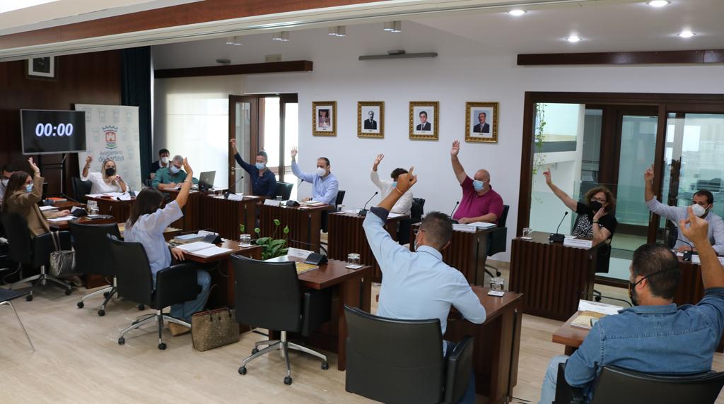 El pleno aprueba solicitar la declaración de Cartaya como Zona Afectada Gravemente por una Emergencia de Protección Civil