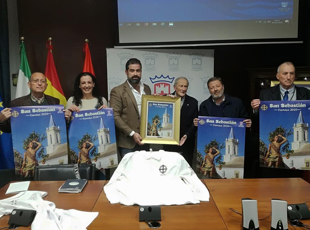 Cartaya anuncia los actos de San Sebastián, Patrón de la localidad y de la Policía Local, para el domingo 19 de enero.