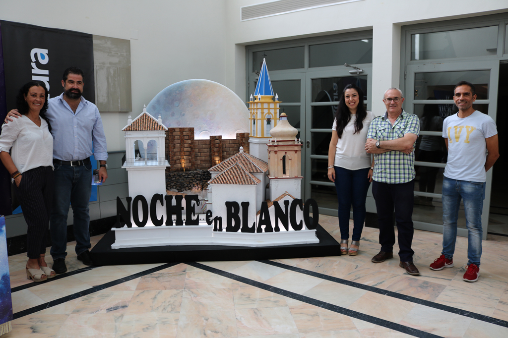 El Ayuntamiento de Cartaya presenta la VI Noche en Blanco en el Centro Cultural de la Villa.
