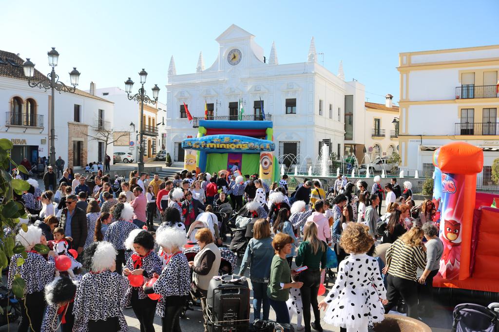 Cartaya vive su primer fin de semana de carnaval.