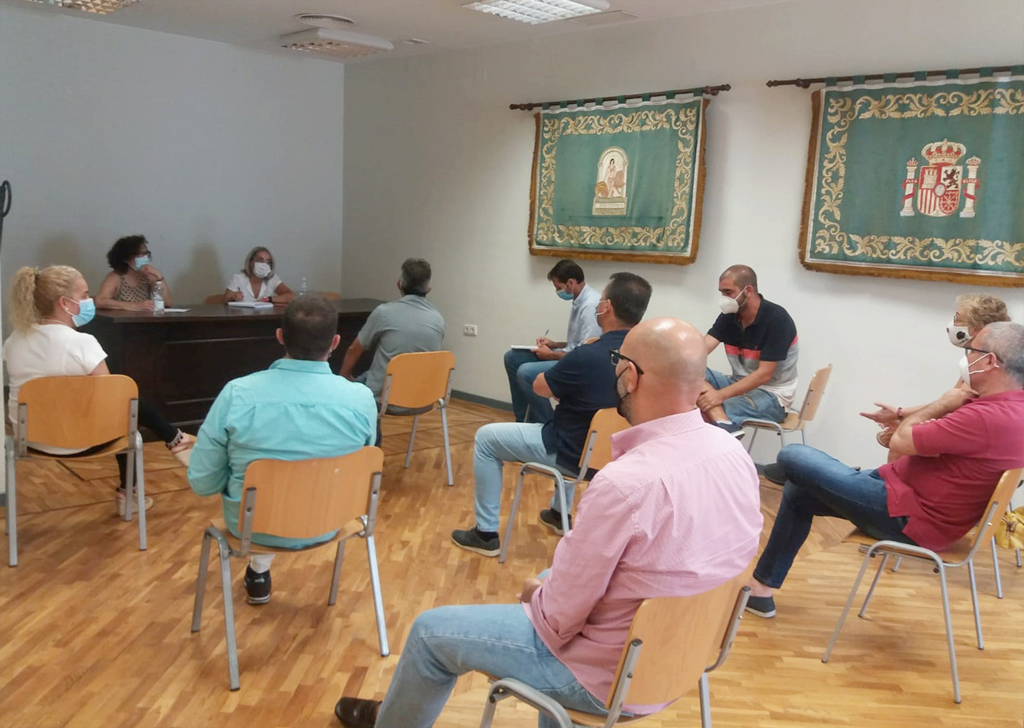 El Equipo de Gobierno y el Comité de Empresa municipal acuerdan convocar la mesa de negociación del convenio colectivo.