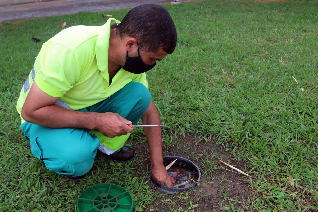Aumenta la vigilancia en las zonas verdes y jardines por el incremento de actos vandálicos