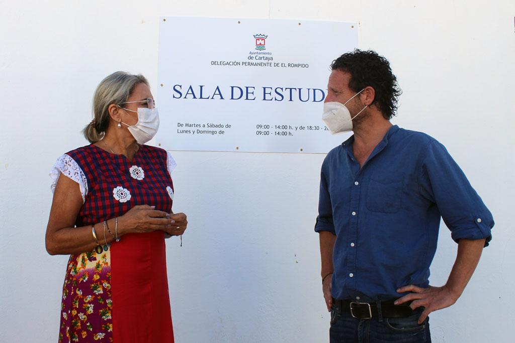 El Ayuntamiento de Cartaya habilita dos salas de estudio en El Rompido