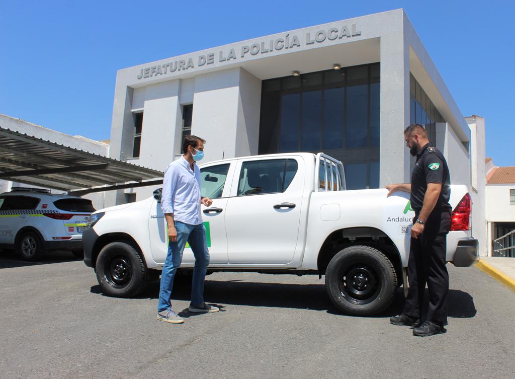 El Ayuntamiento de Cartaya cuenta con un nuevo vehículo para el Servicio de Playas.