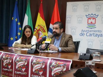 Presentación del Cartel del Carnaval de Cartaya 2020.