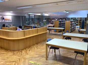 Cultura reabre la Biblioteca Municipal y amplía el horario de atención al público del Centro Cultural