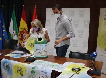 Cartaya aumenta en un 39% la recogida de envases de vidrio, fruto de la campaña del Ayuntamiento y Ecovidrio