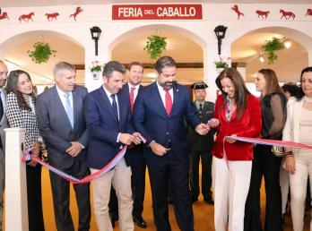 Inauguración de la XIX Feria del Caballo y sus complementos en Cartaya.