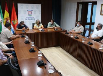 El Ayuntamiento y la Sociedad de Cazadores trabajan conjuntamente para la conservación del monte cartayero